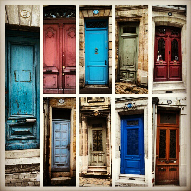 Doors of Bordeaux