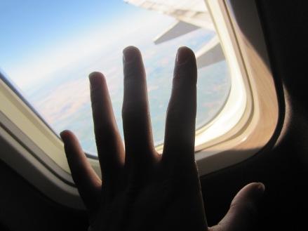 Good-bye (semi) motherland.