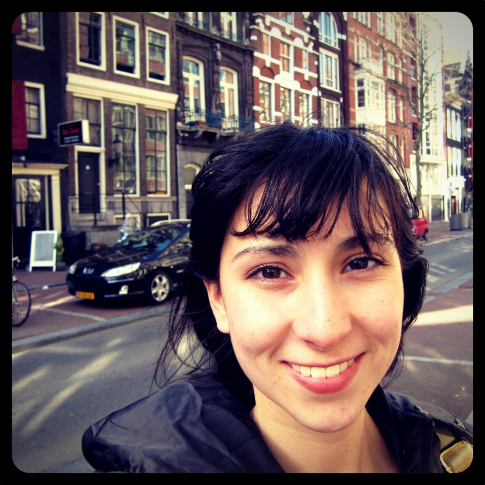 This is me in Amsterdam enjoying a sunny weekend in April
