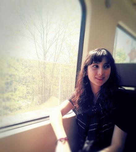 I write on trains