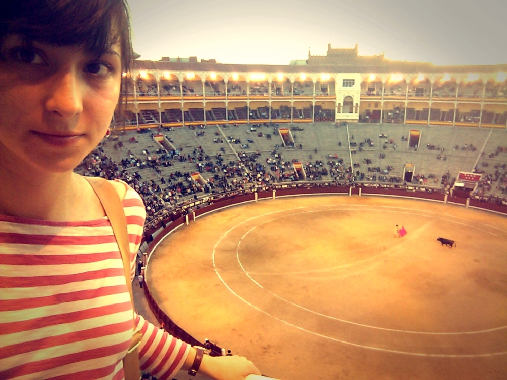 The bullfight in Madrid was not what I expected.