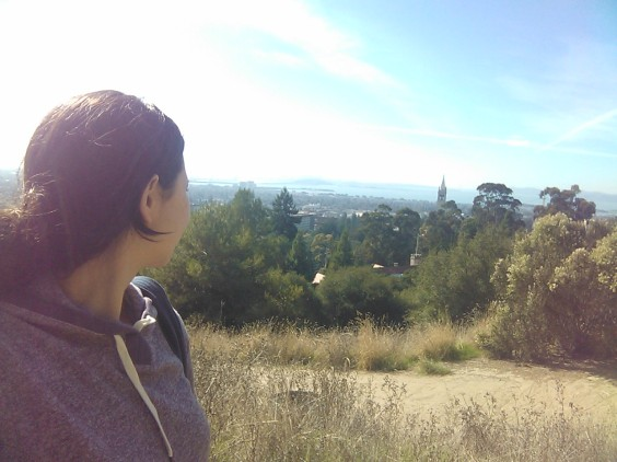 One of my favorite spots in the Bay Area. You can see San Francisco and all of Berkeley.