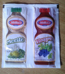 Convenient condiments. Ever seen something like these?